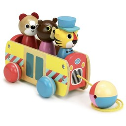 Vilac Vilac - Bus Pull Toy