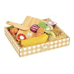 Vilac Vilac - Market Day Fruits and Vegetables to Chop
