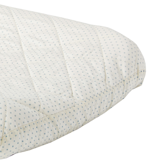 Pehr Pehr - Changing Mattress Cover, Blue Pin Dot