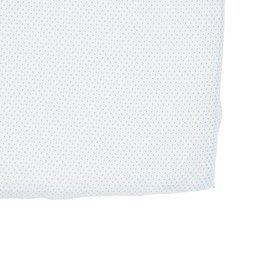 Pehr Pehr - Fitted Crib Sheet, Blue Pin Dot