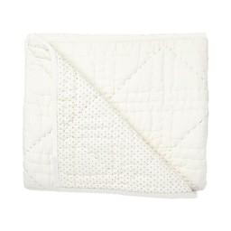 Pehr Pehr - Cotton Quilt, Grey Pin Dot