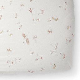 Pehr Pehr - Fitted Crib Sheet, Birds of a Feather