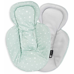 4moms 4moms - Reversible Newborn Insert for MamaRoo 4.0 Infant Seat, Grey Mesh