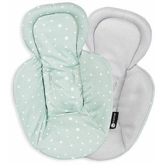 4moms 4moms - Reversible Newborn Insert for MamaRoo 4.0 Infant Seat, Grey Mesh
