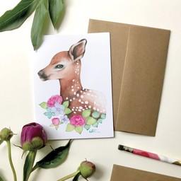 Katrinn Pelletier Illustration Katrinn Pelletier - Greeting Card, Baby Dear