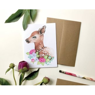 Katrinn Pelletier Illustration Katrinn Pelletier - Greeting Card, Baby Dear