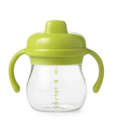 OXO OXO - Gobelet de Transition à Poignée/Transition Sippy Cup with Handles, Vert/Green