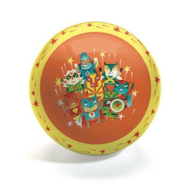 Djeco Djeco - 22 cm Ball, Super Hero