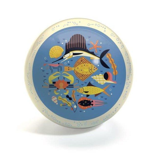 Djeco Djeco - 22 cm Ball, Bubbles
