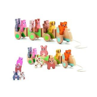 Djeco Djeco - Trainimo Farm Pull Toy
