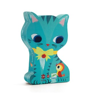 Djeco Djeco - Silhouette Puzzle, Pachat and his Friends