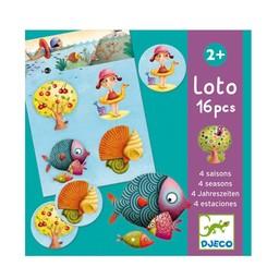 Djeco Djeco - 4 Seasons Loto Game