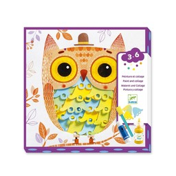 Djeco Djeco - Painting, Cute Owl