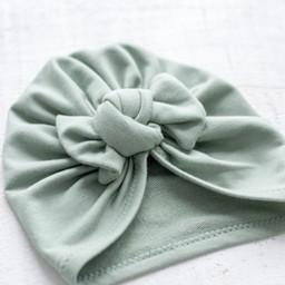 Mini Bretzel Mini Bretzel - Premium Collection Turban, Cactus Bow
