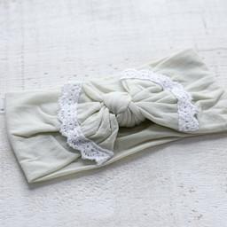 Mini Bretzel Mini Bretzel - Dahlia Headband, Eggshell