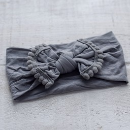 Mini Bretzel Mini Bretzel - Margret Headband, Dark Grey
