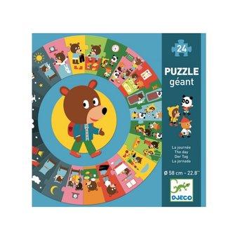 Djeco Djeco - Giant Puzzle, The Day