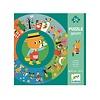 Djeco Djeco - Giant Puzzle, The Year