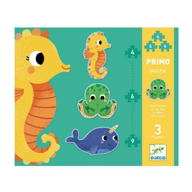 Djeco Djeco - Primo Puzzle, Under the Sea
