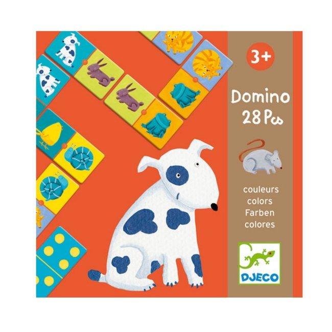 Djeco Djeco - Animal and Color Domino