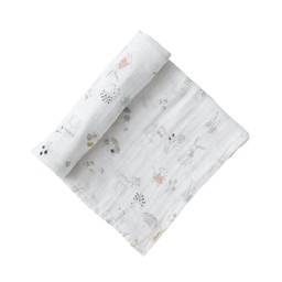 Pehr Pehr - Single Cotton Swaddle, Magical Forest