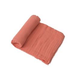 Little Unicorn Little Unicorn - Single Cotton Muslin Blanket, Dusty Rose
