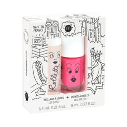 Nailmatic Nailmatic - Lip Gloss and Nail Polish Gift Set, New York