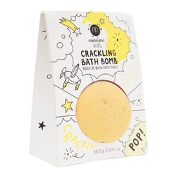 Nailmatic Nailmatic - Coloring and Soothing Bath Bomb, Yellow Pop