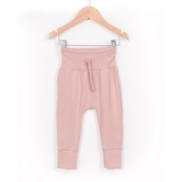Zak et Zoé Zak et Zoe - Grow With Me Harem Pants, Light Pink