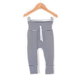 Zak et Zoé Zak et Zoé - Grow With Me Harem Pants, White and Blue Stripes