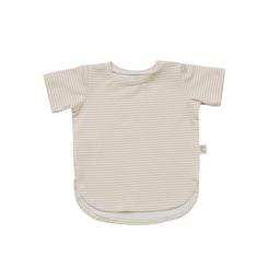 Little Yogi Little Yogi - T-Shirt, Little Beige Stripes