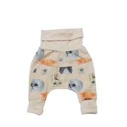 Little Yogi Little Yogi - Grow With Me Pants, Little Cats