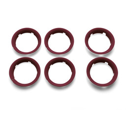 Bugaboo Bugaboo Bee5 - Enjoliveurs de Roue pour Poussette/Wheel Caps for Bugaboo Bee5 Rouge/Red