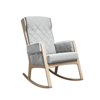 Dutailier Dutailier, Margot - Glider Chair, Natural Light Grey, Stock Program