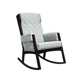 Dutailier Dutailier, Margot - Glider Chair, Espresso Light Grey, Stock Program