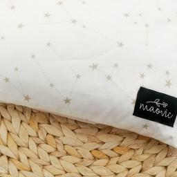 Maovic Maovic - Oreiller de Sarrasin/Buckwheat Pillow, Étoiles Bleus/Blue Stars
