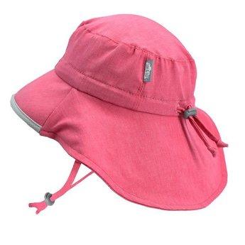 0571a3d42 Jan & Jul - Grow With Me Adventure Sun Hat, Heather Pink