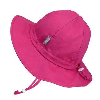 Jan & Jul Jan & Jul - Grow With Me Cotton Sun Hat, Hot Pink