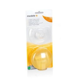 Medela Medela - Boucliers de Mamelons Contact et Étui, 16 mm