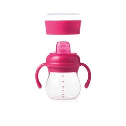 OXO OXO - Transition Soft Spout Sippy Cup Set, Pink