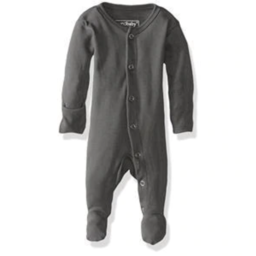 L'ovedbaby L'ovedbaby - Organic Footed Overall, Grey