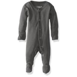 L'ovedbaby L'ovedbaby - Pyjama à Pattes en Coton Biologique, Gris