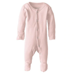 L'ovedbaby L'ovedbaby - Organic Footed Overall, Blush