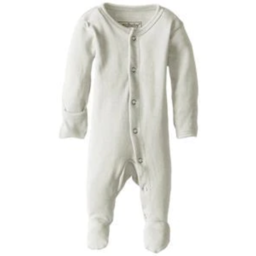 L'ovedbaby L'ovedbaby - Organic Footed Overall, Stone