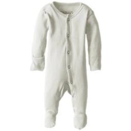 L'ovedbaby L'ovedbaby - Pyjama à Pattes en Coton Biologique, Stone