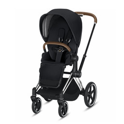 Cybex Cybex - Priam Stroller Chrome Frame Brown