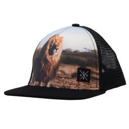 L&P L&P - Casquette Lion, Noir
