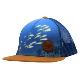 L&P L&P - Fish Cap, Blue Gold