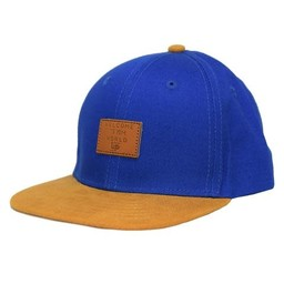 L&P L&P - Casquette Brooklyn, Bleu Indigo Or