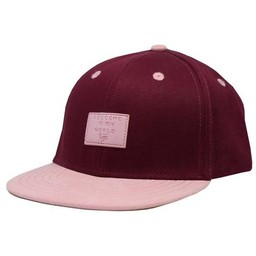 L&P L&P - Casquette Brooklyn, Framboise Rose Velour